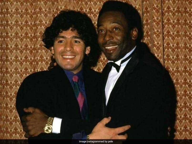 """I Love You Diego"": Pele Pens Emotional Message For Diego Maradona"