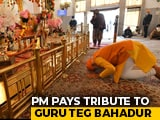 "Video : ""Felt Blessed"": PM Visits Delhi Gurudwara; No Traffic Barriers Put"