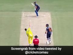 Ind Vs Aus: शुभमन गिल ने बाउंसर पर बल्ला घुमाकर पीछे मारा छक्का, देखता रह गया गेंदबाज - देखें Video