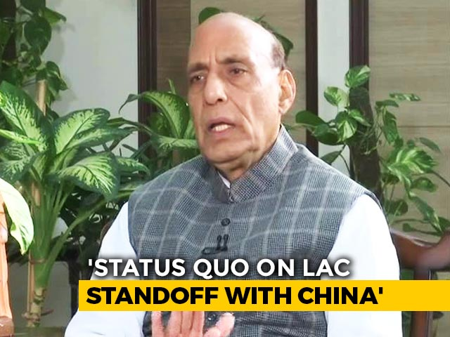 Video : No Meaningful Outcome Of Talks With China On LAC Standoff: Rajnath Singh
