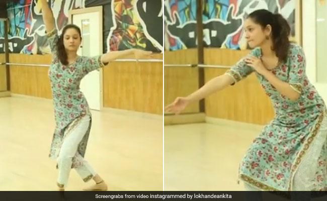 अंकिता लोखंडे ने सुशांत को ट्रिब्यूट देने के लिए 'कौन तुझे' सॉन्ग पर किया डांस, सुर्खियां बटोर रहा है Video