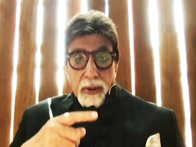 Video : Swachh Bharat Is Equal To Swasth Bharat, Says Amitabh Bachchan