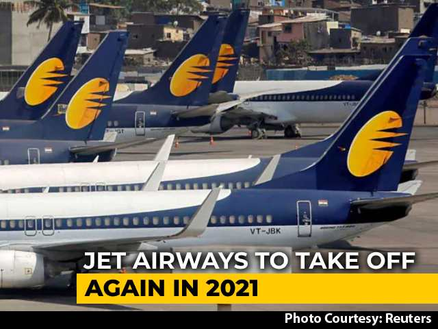 Video : Bankrupt Jet Airways Plans To Resume Services By Summer 2021