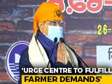 "Video : ""I Appeal With Folded Hands..."": Arvind Kejriwal To Centre On Farm Laws"