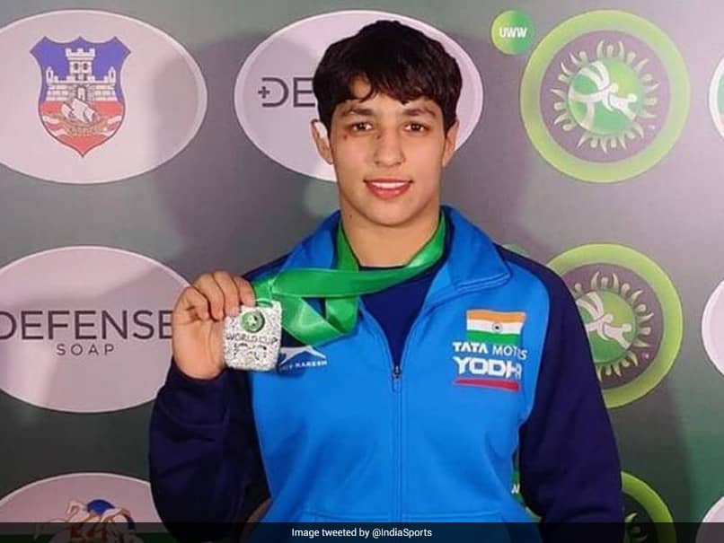 Indias Anshu Malik Grabs Silver At Individual Wrestling World Cup