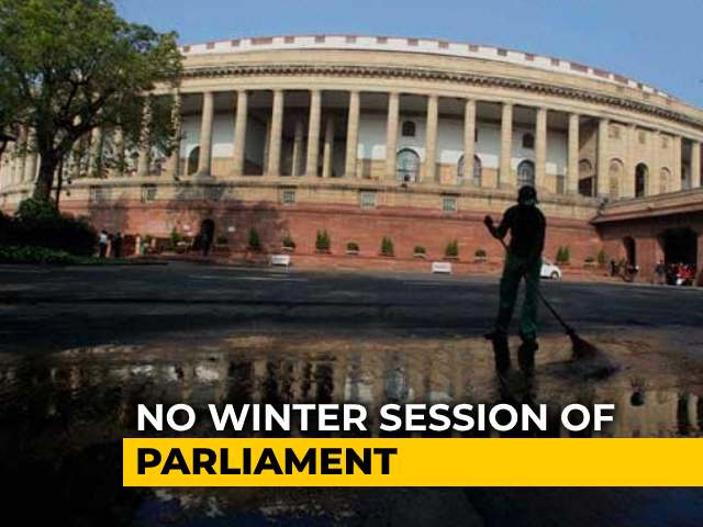 Video : No Parliament Winter Session Due To Covid; Congress Alleges Not Consulted