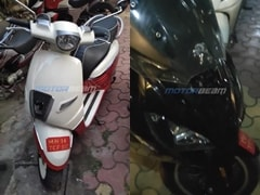 Peugeot Django And Pulsion 125 cc Scooters Spotted In India Sans Camouflage