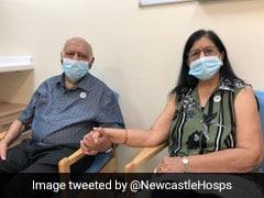 हरि और रंजन शुक्ला को ब्रिटेन में लगा कोविड-19 का टीका, वैक्सीन लेने वाले दुनिया के पहले भारतीय मूल के दंपति