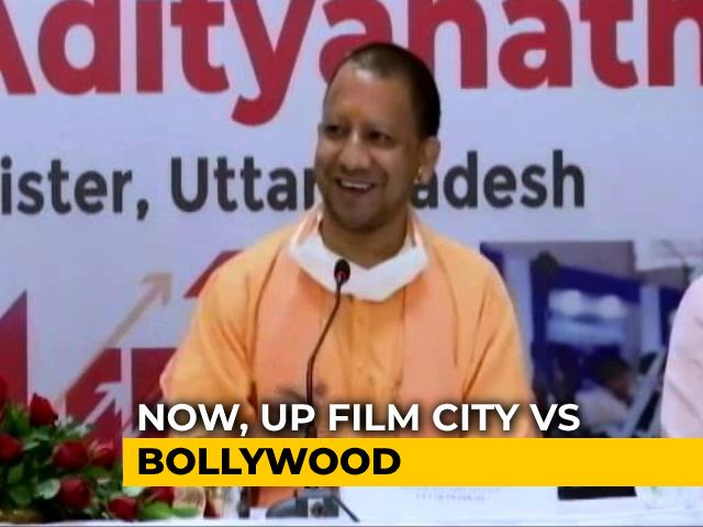 "Video : ""Open Competition"": Yogi Adityanath On Sena's Attack Over Bollywood Meet"