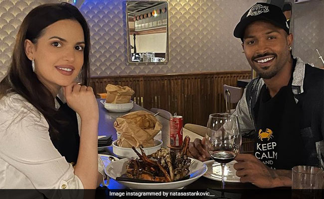 Hardik Pandya And Natasa's Dinner Date Was All About Delicious Food!
