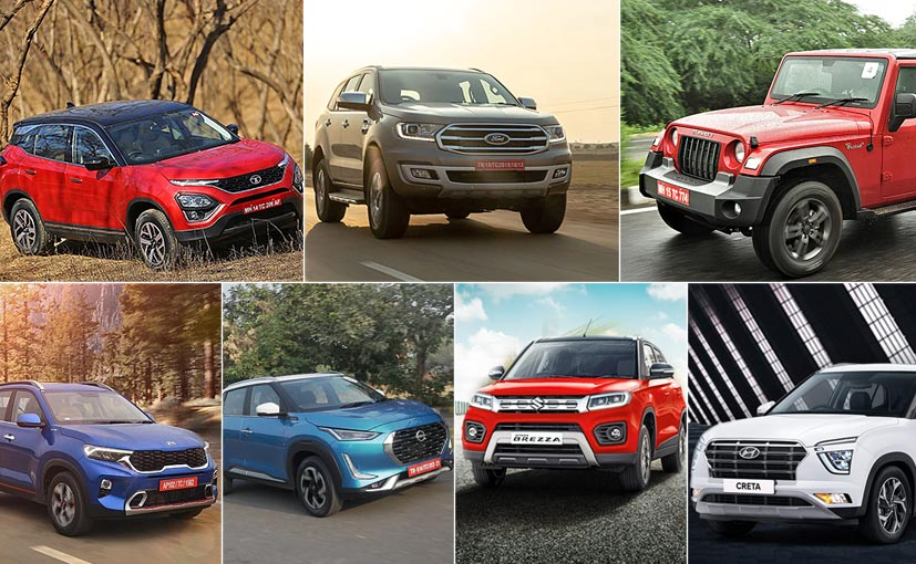 Here is our list of top SUVs that have been launched in India in 2020