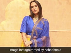 In Colourful <i>Lehengas</i>, Neha Dhupia And Fatima Sana Shaikh Brighten Up Ethnic Style