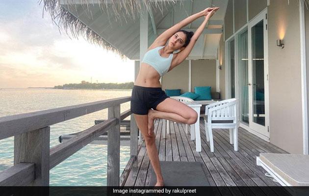 Yoga And Maldives Memories On Rakul Preet Singh's Mind, Made This Post Perfect