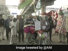 Bihar Man Cycles 1,000 Km To Join Farmers' Protest Near Delhi Border