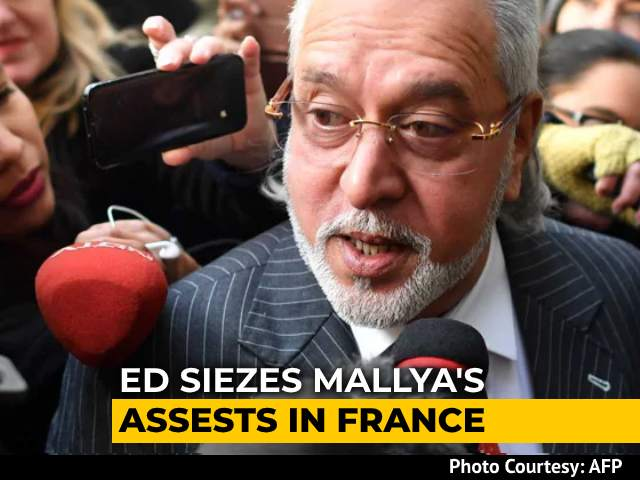 Video : Vijay Mallya's Assets In France Worth 1.6 Million Euros Seized