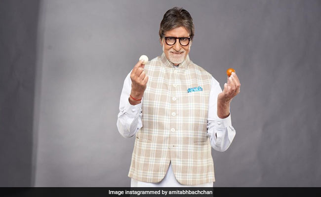 When Gulab Jamun And Rasgulla Became Amitabh Bachchan's Toughest Props (See Pic)