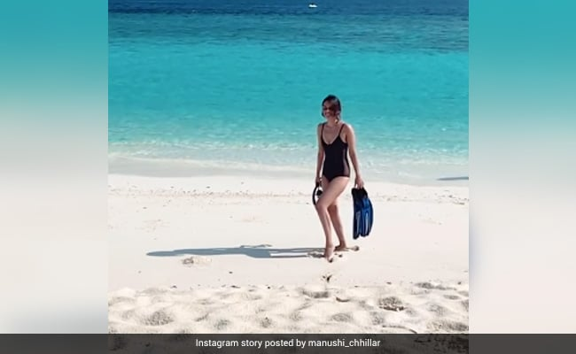 Manushi Chhillar, In Holiday Mood, Shares Another Pic From Maldives