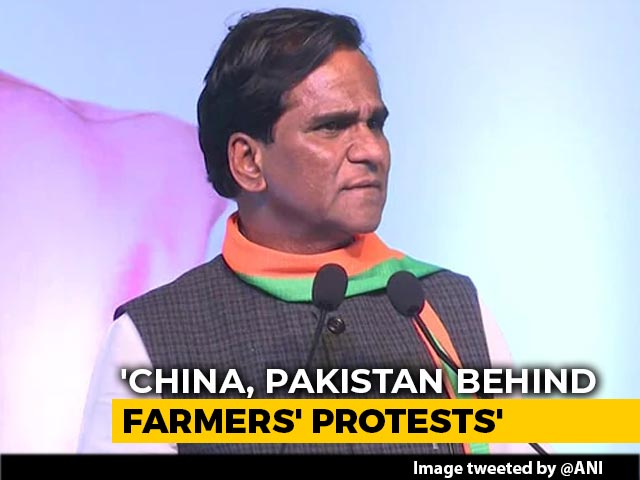 "Video : Minister's ""China, Pak Hand In Farmer Protest"" Remark Shameful: Sikh Body"