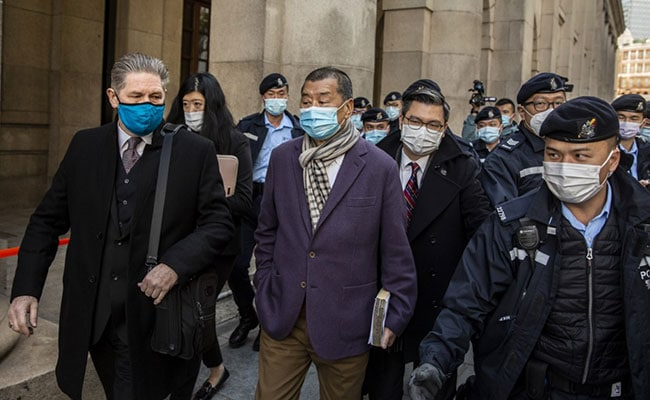 Article image Hong Kong media tycoon Jimmy Lai ordered back to jail