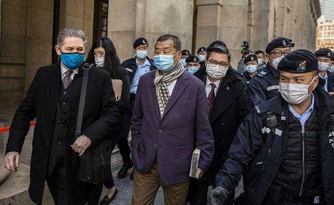 Hong Kong media tycoon Jimmy Lai's bail revoked