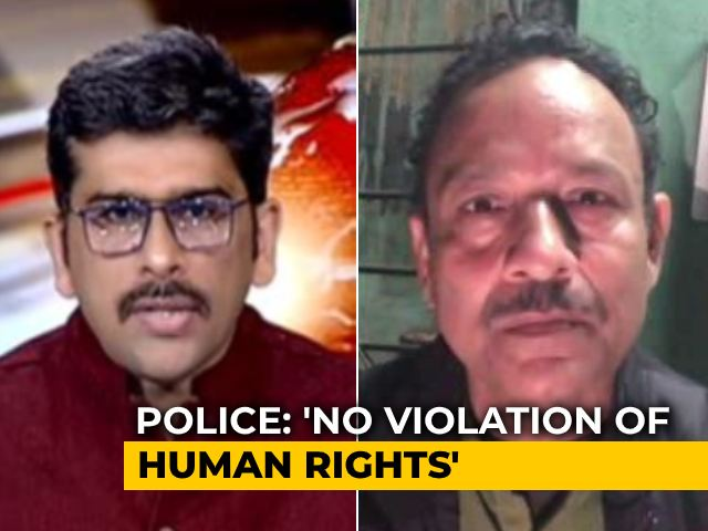 "Video : ""Not A Misuse Of Law"": UP Police Defend Wedding Move"