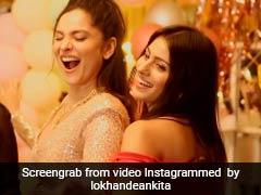 Ankita Lokhande ने दोस्त के साथ प्रियंका चोपड़ा के गाने पर यूं जमकर किया डांस, बार-बार देखा जा रहा है Video