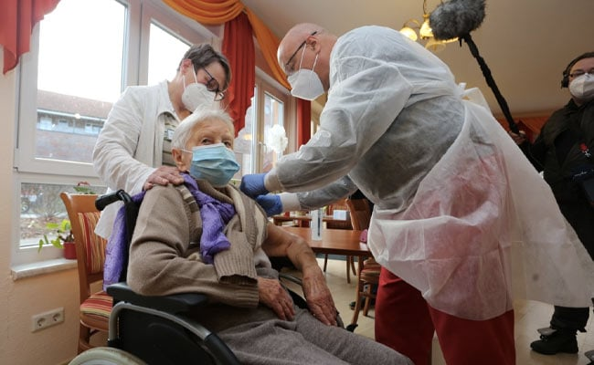 101-Year-Old Woman First In Germany To Receive Coronavirus Vaccine