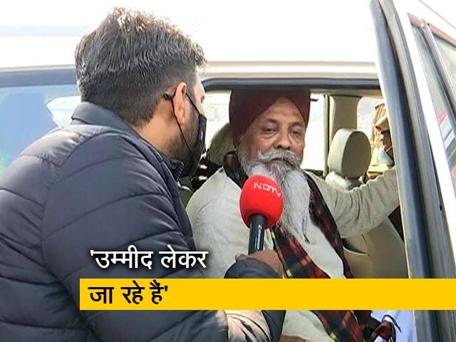 Videos : मीटिंग में जाने से पहले पंजाब किसान यूनियन के नेता रुलदू सिंह मानसा ने NDTV से की बात