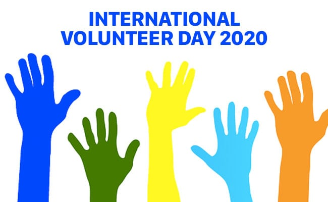 International Volunteer Day 2020: 'Together We Can Through Volunteering'