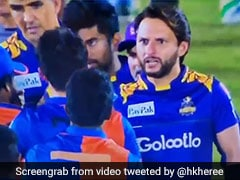 Watch: Shahid Afridi Rebukes Afghan Youngster After His On-Field Spat With Mohammad Amir In Lanka Premier League