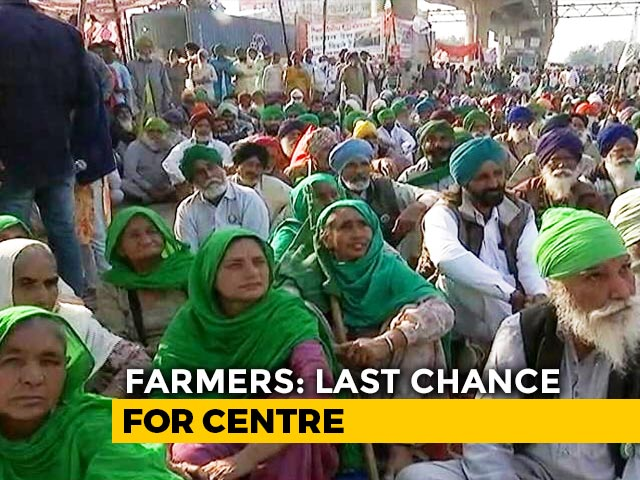 Video : Round 2 Talks Today, Government Weighs Options As Farmers Refuse To Budge
