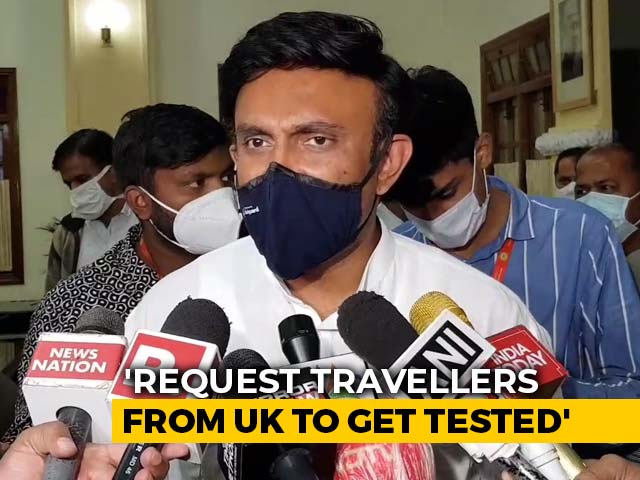 Video : Karnataka To Test Arrivals From UK, 2 Other Nations For Covid