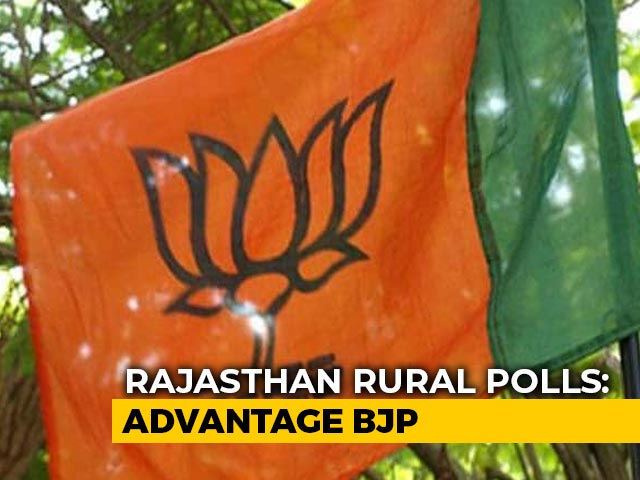 Video : Setback For Ruling Congress In Rajasthan, BJP Ahead In Local Body Polls