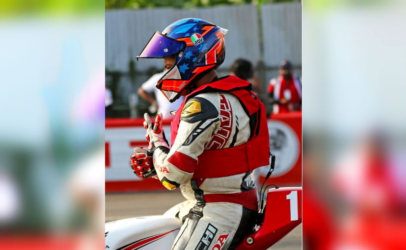 The Under 18 NSF 250R riders donned the airbag vests in Round 1 of INMRC