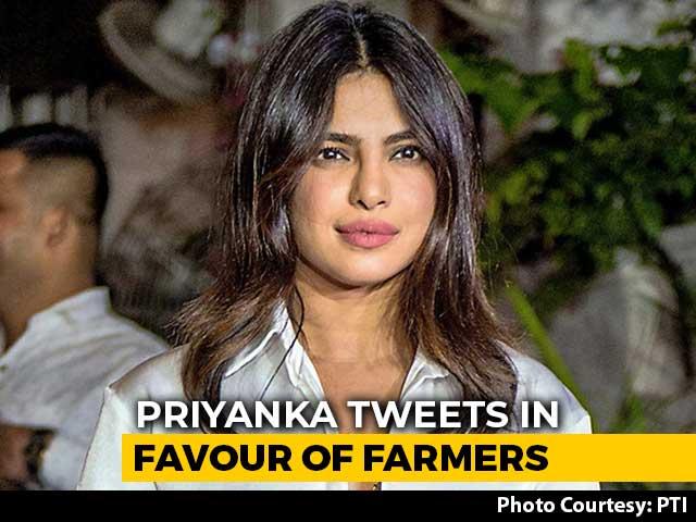 "Video : ""Farmers Are Food Soldiers"": Priyanka Chopra Digs Diljit Dosanjh Tweet"