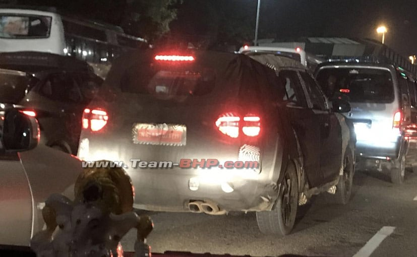 The new 7-seater SUV, based on the Hyundai Creta, has been spotted testing in India for the first time