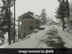 J&K: पटनीटॉप की खूबसूरत वादियों में बर्फबारी का मज़ा लेते सैलानी, देखें तस्वीरें