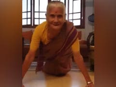 "Milind Soman's 81-Year-Old Mother Usha Soman Feels Like ""Wonder Woman."" Easy To See Why"