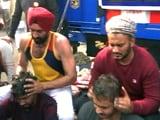 "Video : Kabaddi Players Offer Head Massage To ""Destress"" Protesting Farmers"