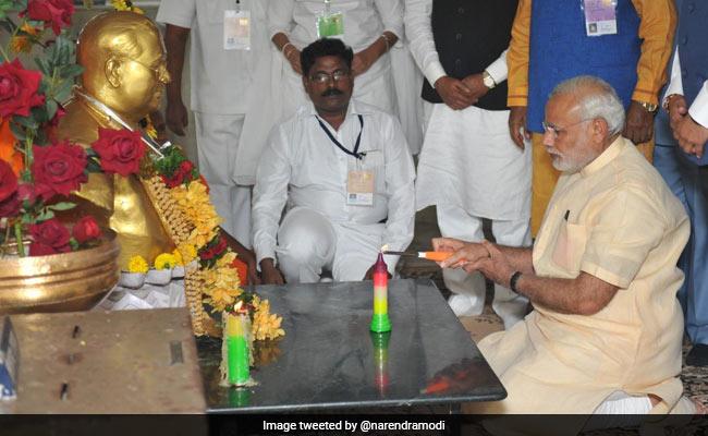 PM Modi Pays Tribute To BR Ambedkar On His Death Anniversary