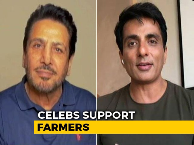Video : Gurdas Maan To Sonu Sood: Celebs Support Farmers
