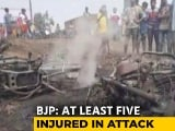 Video : Bombs Thrown At BJP's West Bengal Rally, Party Points At Ruling Trinamool