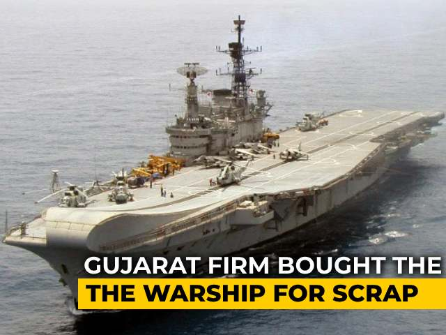 Video : Defence Ministry Formally Rejects Plan To Save Aircraft Carrier Viraat From Shipbreakers
