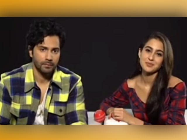 Video : Varun Dhawan & Sara Ali Khan On Stepping Into Govinda & Karisma's Shoes