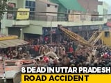 Video : 8 Killed As Sand-Laden Truck Overturns On SUV In Uttar Pradesh