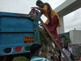 Video : Trucks Arrive To Help 5,000 People Stranded Near Chennai IT Corridor