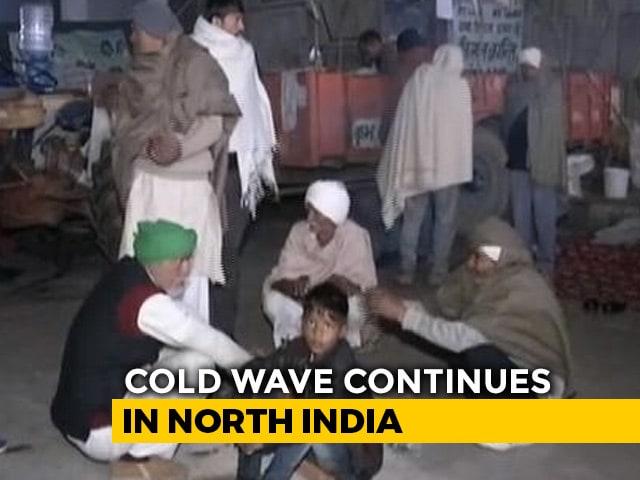 Video : Cold Wave Grips Delhi, Temperature Below 5 Degrees