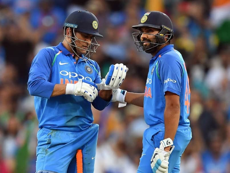 MS Dhoni Wins ICC Spirit Of Cricket Award Of The Decade, Rohit Sharma Reacts