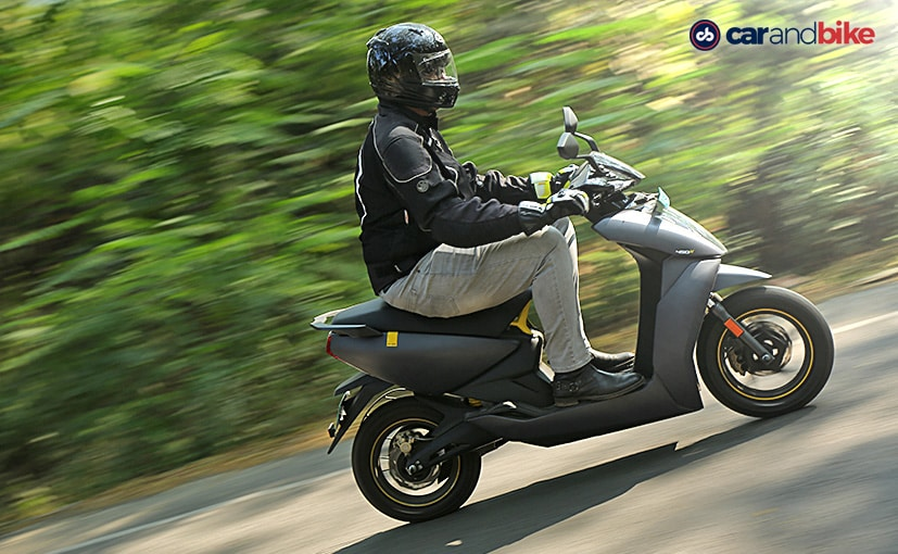 The Ather 450X electric scooter is priced at Rs. 1.59 lakh (ex-showroom, Bengaluru).