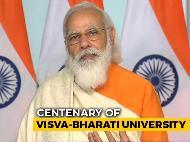 "Video : ""Nation Taking Forward Teachings Given At Visva-Bharati,"" Says PM"
